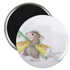 """Time to brush 2.25"""" Magnet (100 pack)"""