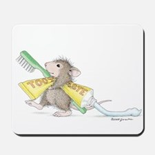 Time to brush Mousepad