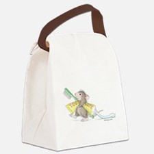 Time to brush Canvas Lunch Bag