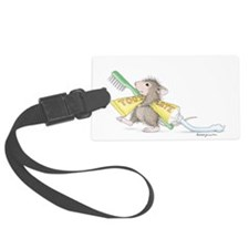 Time to brush Luggage Tag