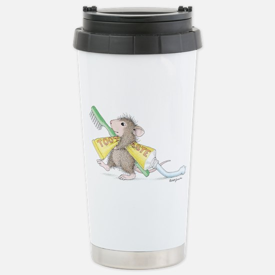 Time to brush Travel Mug