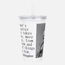 A Mans Character Acrylic Double-wall Tumbler