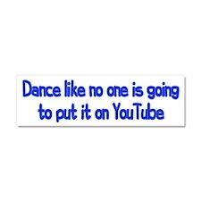 YouTube Dance Car Magnet 10 x 3