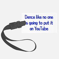 YouTube Dance Luggage Tag