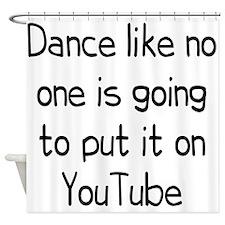 YouTube Dance Shower Curtain