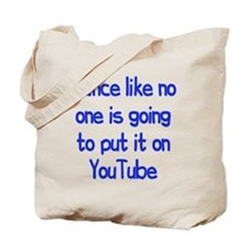 YouTube Dance Tote Bag