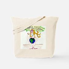 Adoptive Mother Earth Goddess Tote Bag