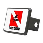 Cave Diver (blk) Hitch Cover