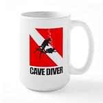 Cave Diver (blk) Mug