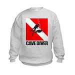 Cave Diver (blk) Sweatshirt