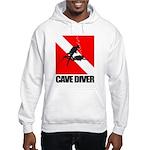Cave Diver (blk) Hoodie