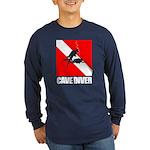Cave Diver (blk) Long Sleeve T-Shirt