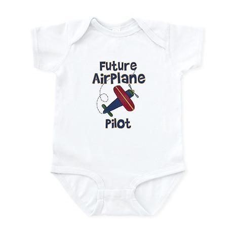 Future Airplane Pilot Infant Creeper