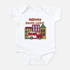 EMS Mommy Saves Lives Infant Creeper