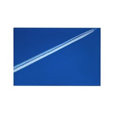 Aeroplane contrail - Rectangle Magnet (100 pk)