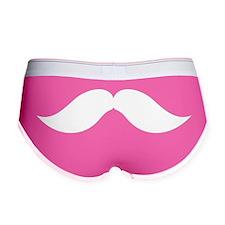 Mustache Women's Boy Brief
