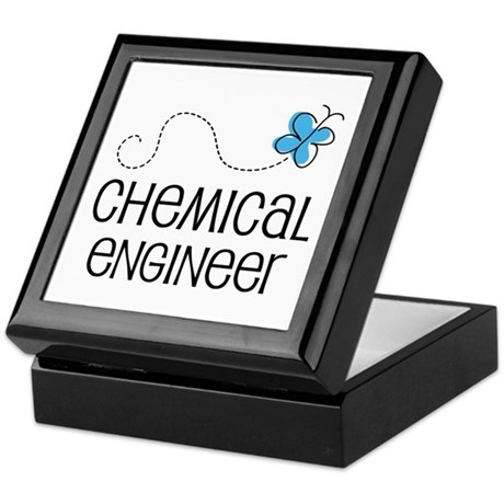 Cute Chemical engineer Keepsake Box