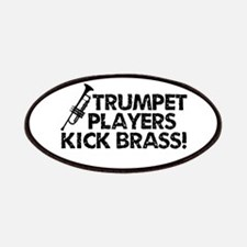 Kick Brass Patches