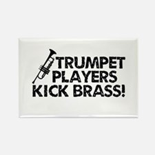 Kick Brass Rectangle Magnet