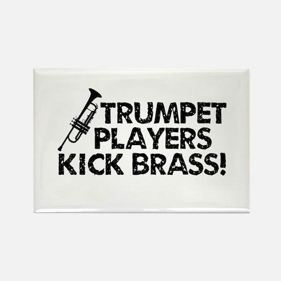 Kick Brass Rectangle Magnet
