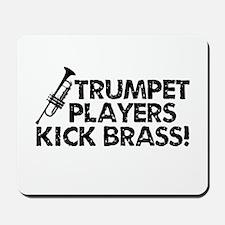 Kick Brass Mousepad