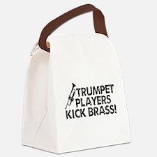 Kick Brass Canvas Lunch Bag