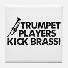Kick Brass Tile Coaster