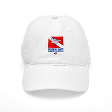 Certified Diver Baseball Baseball Cap