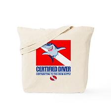 Certified Diver Tote Bag