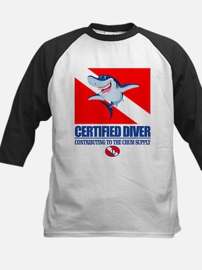 Certified Diver Baseball Jersey