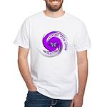 Lupus Awareness White T-Shirt