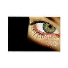 Woman's eye - Rectangle Magnet (100 pk)