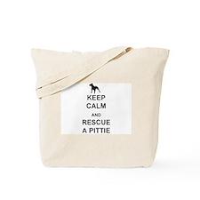 Rescue a Pittie Tote Bag