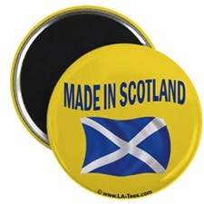 """MADE IN SCOTLAND 2.25"""" Magnet (100 pack)"""