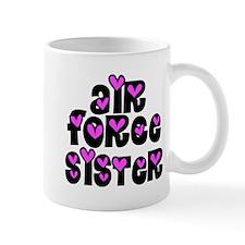 AF Sister Pink Hearts Mug
