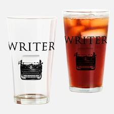 Writer Drinking Glass