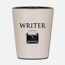 Writer Shot Glass