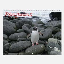 Penguins Wall Calendar
