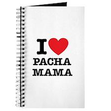 i love pachamama Journal