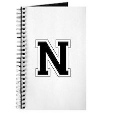 Collegiate Monogram N Journal