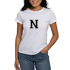 Collegiate Monogram N T-Shirt