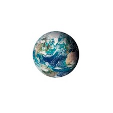 Blue Marble image of Earth (2005) - Mini Button