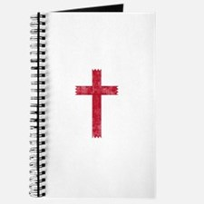Pretty red christian cross 4 U L Journal