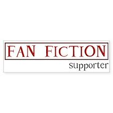 Fan Fiction Bumper Bumper Sticker