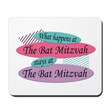 Happens At The Bat Mitzvah Mousepad
