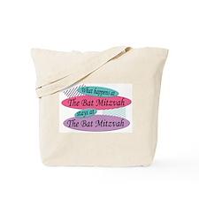 Happens At The Bat Mitzvah Tote Bag