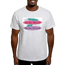 Happens At The Bat Mitzvah Ash Grey T-Shirt