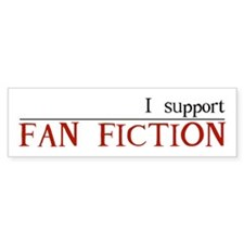 Fan Fic Bumper Sticker 2