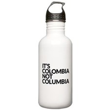 Colombia Not Columbia Water Bottle