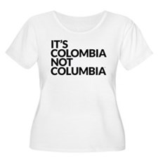 Colombia Not Columbia Plus Size T-Shirt